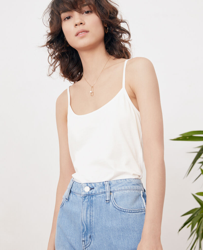 Vest top OFF WHITE