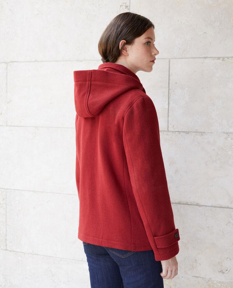 Short duffle coat Rio red Gouziern