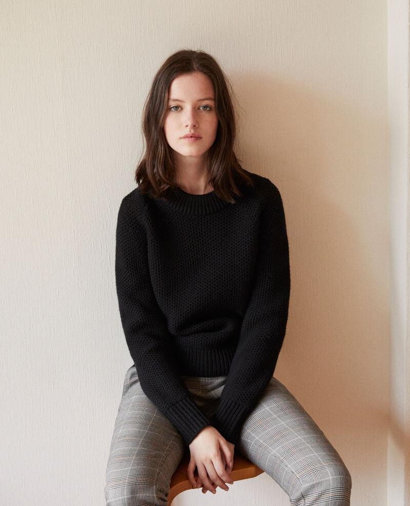 Wool jumper NOIR