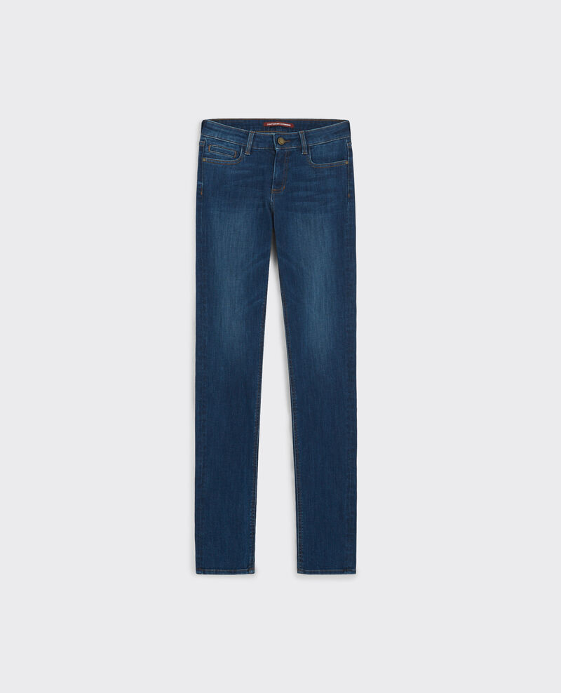Ma demoiselle slim-fit jeans Stone blue Carhaix