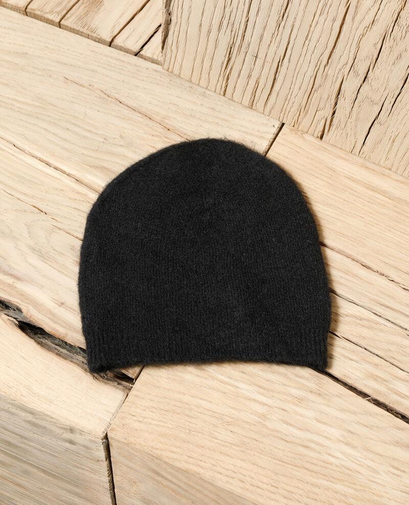 Fluffy beanie Noir Glaner