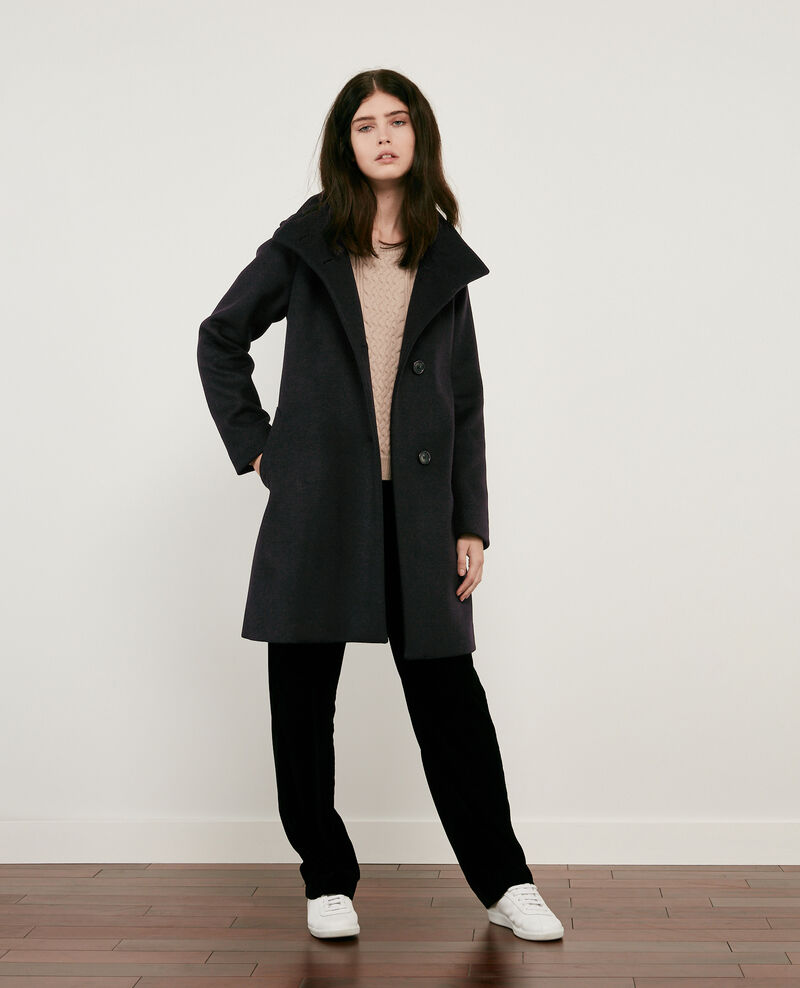 Wool coat Noir Dyera