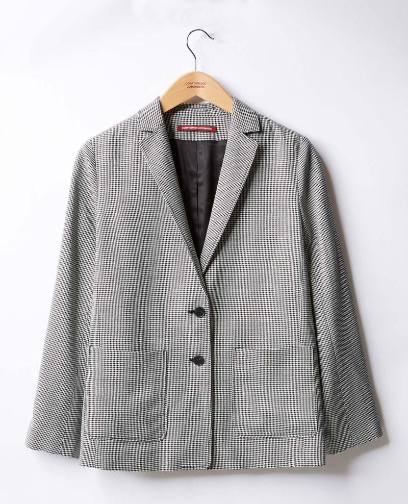 Jacket Pied de poule Falconette