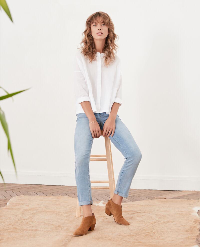 Loose fit blouse Blanc Ferrier