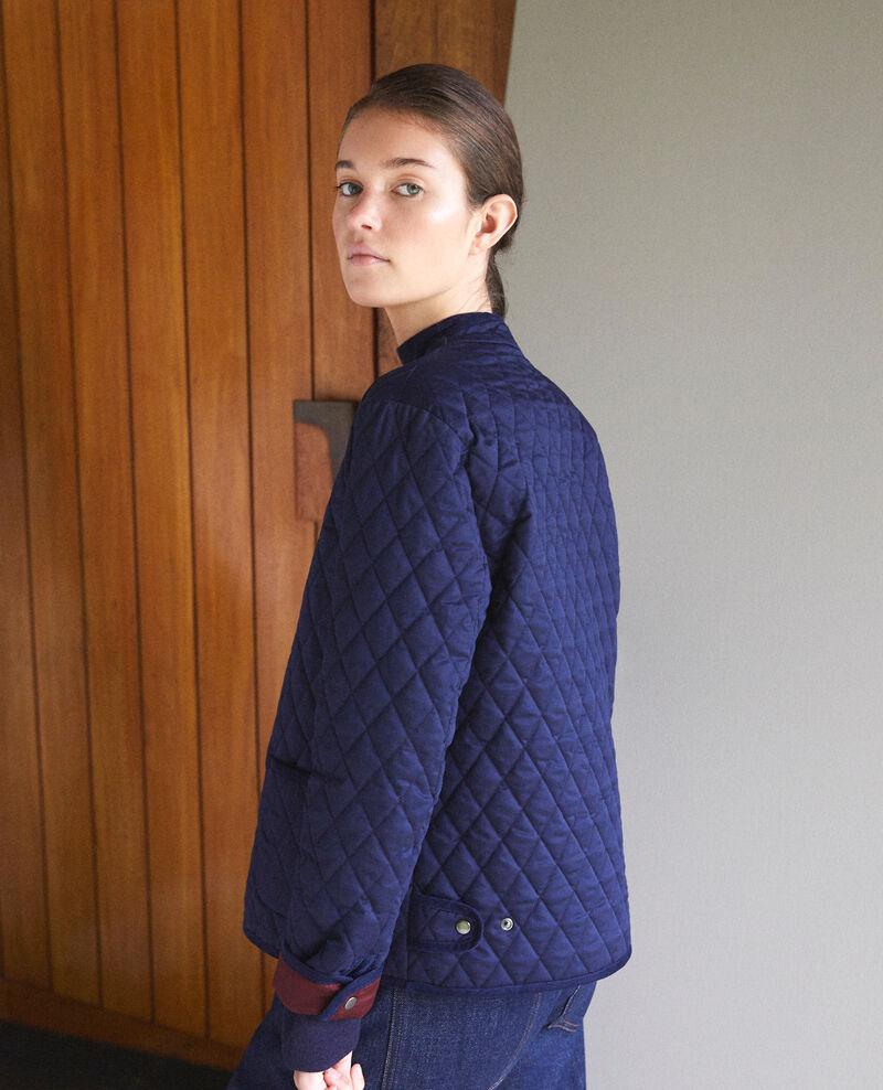 Reversible short jacket Peacoat Godelieve