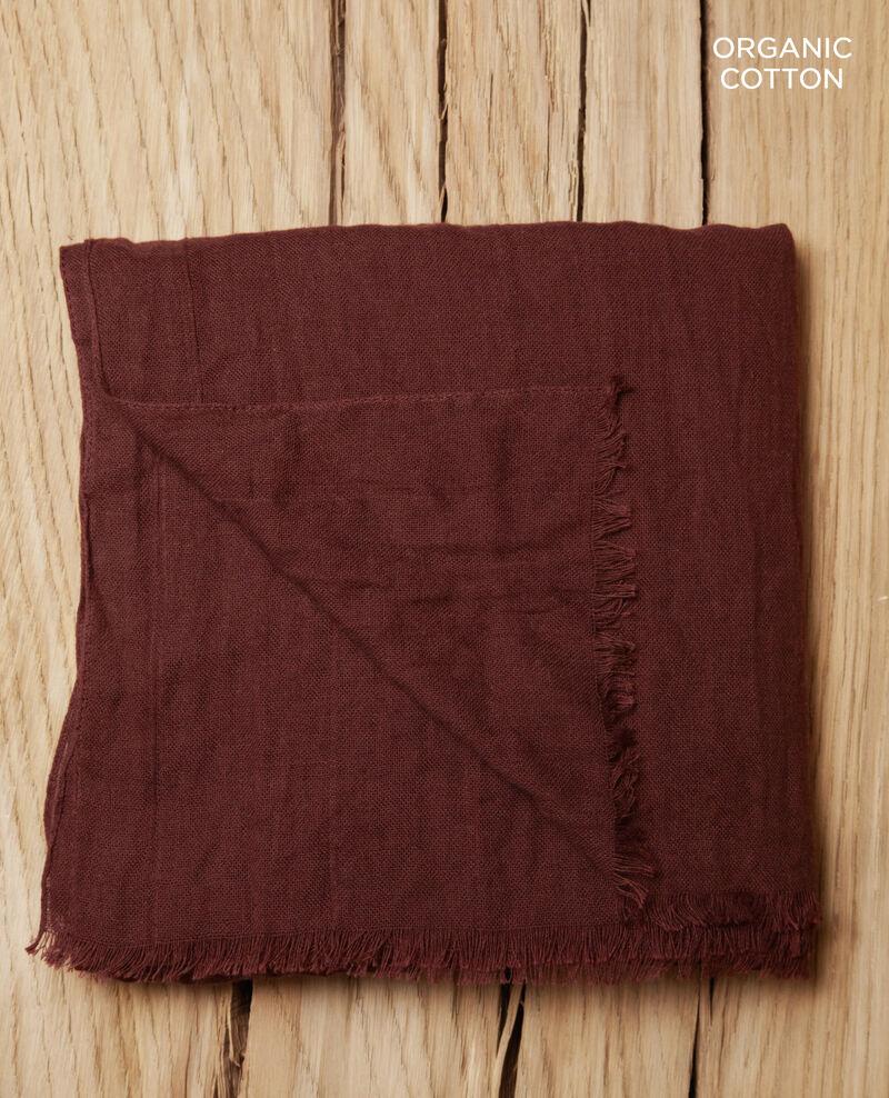 Cotton scarf Decadente chocolate Geste
