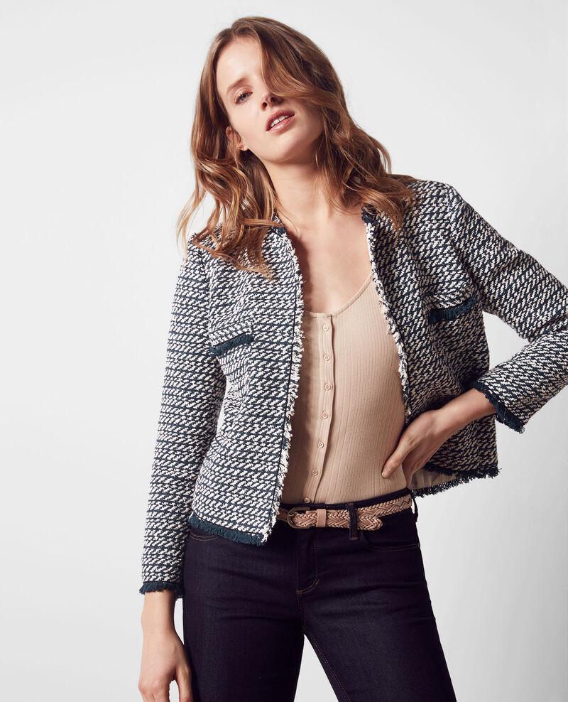 Open tweed jacket Midnight Ciao
