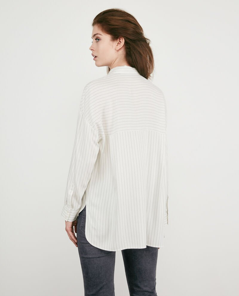 Striped oversize shirt Off white Dagicien