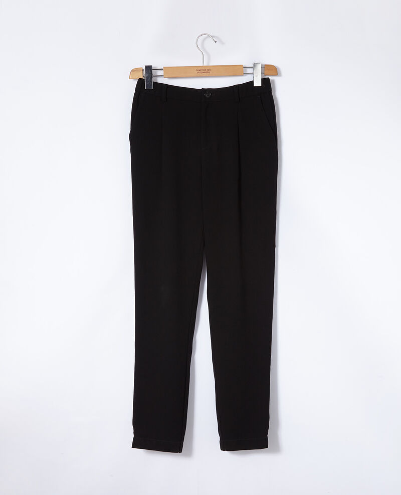 Suit-style trousers Noir Girl