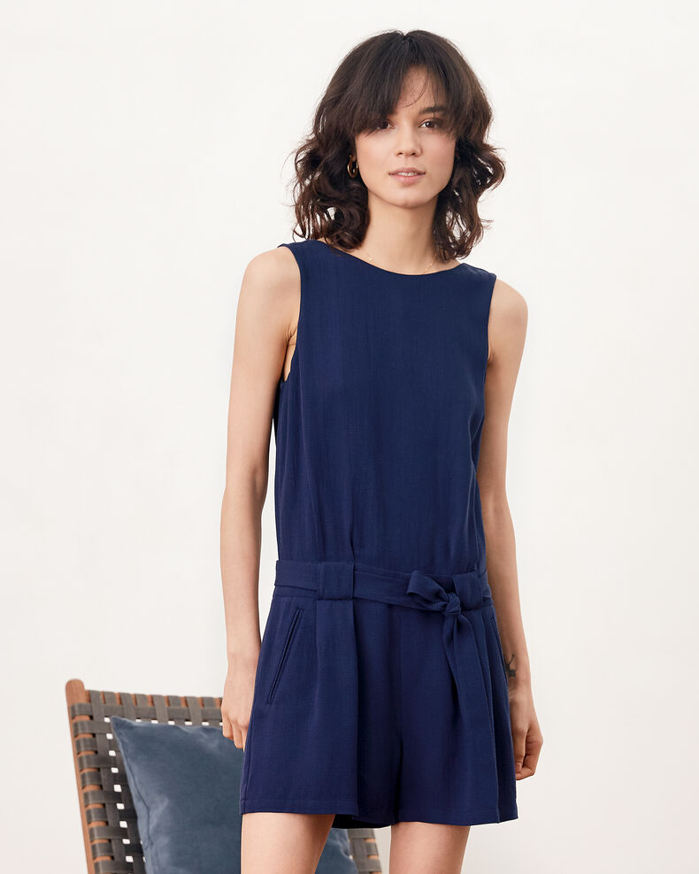 Playsuit with low-cut back Marine Festin