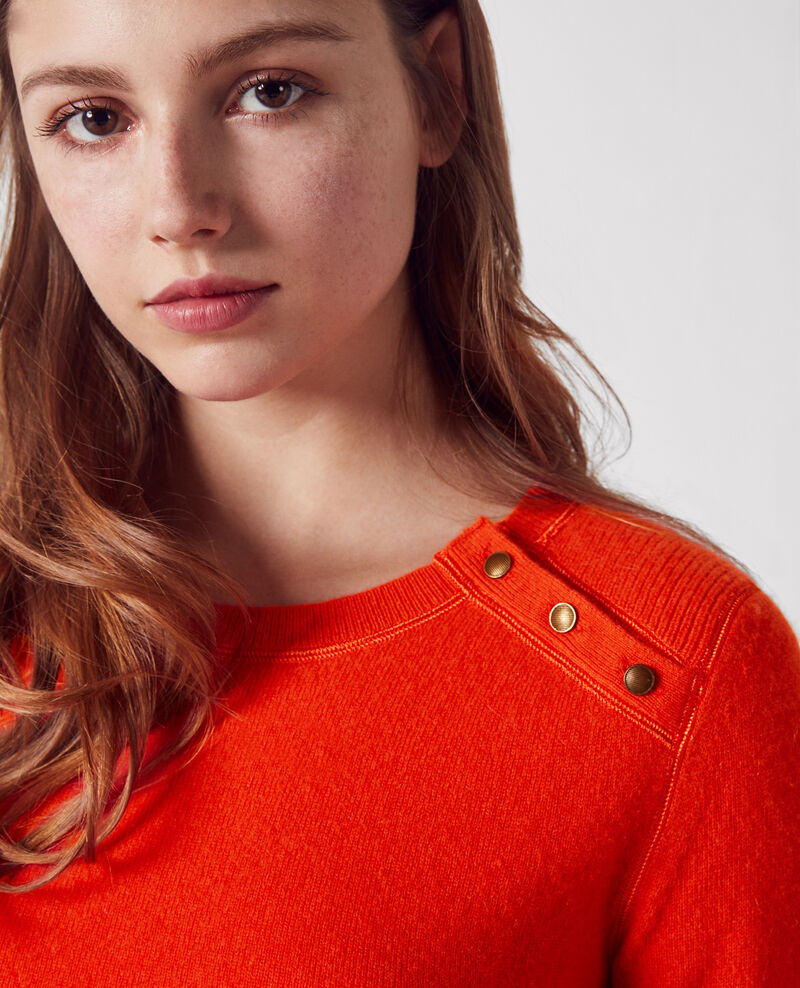 Cashmere jumper Candy apple Chica