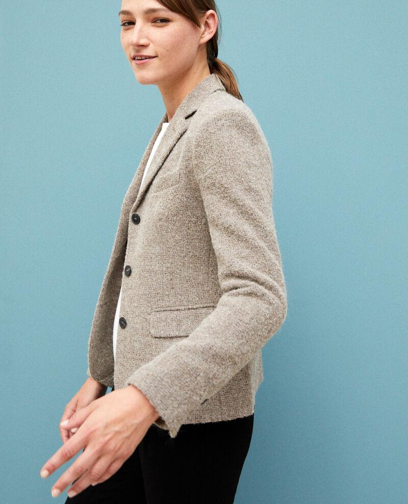 Veste de costume avec de la laine NATURAL