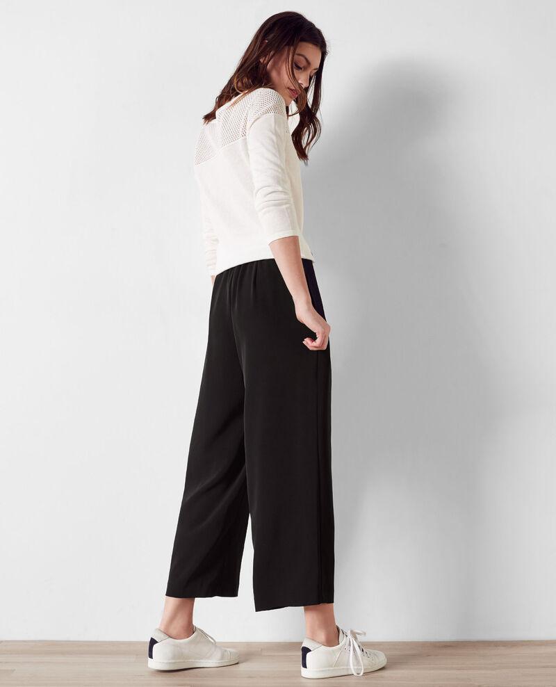 Loose wide-leg trousers Noir Chouette