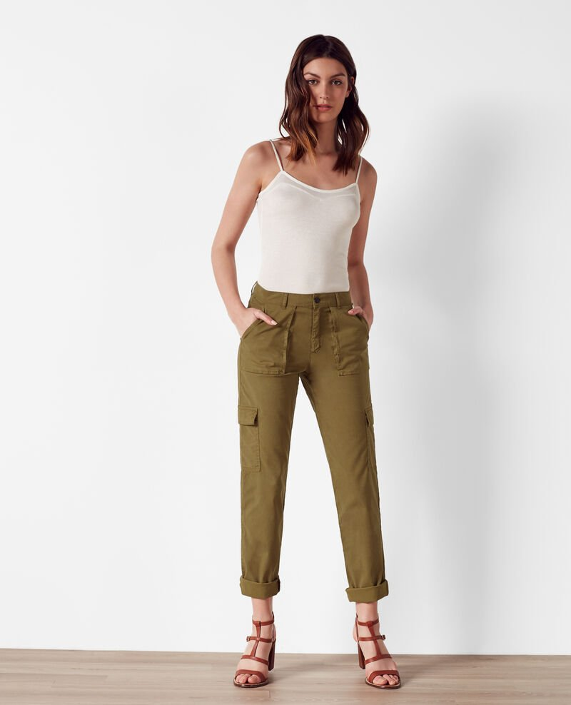 Cargo pants Bronze Chantal