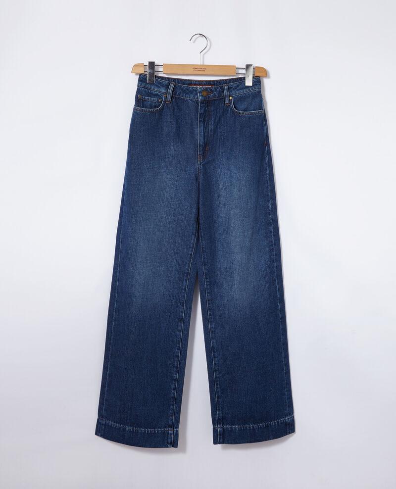 Wide full-length jeans Vintage wash Guya