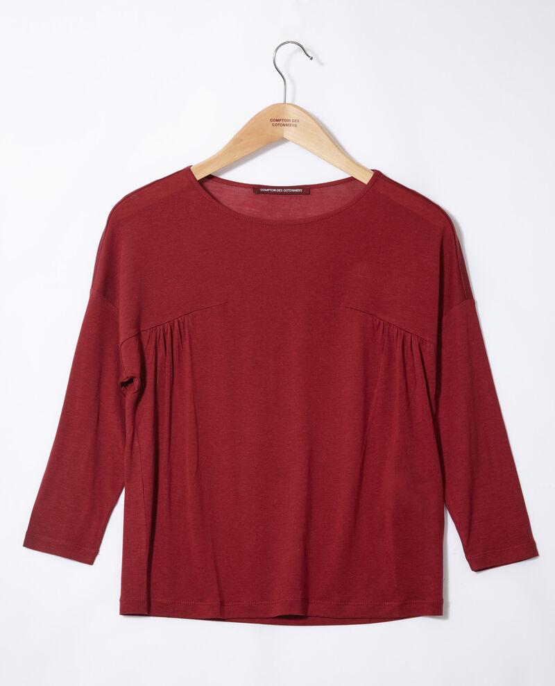 Round neck t-shirt Rio red Graziela