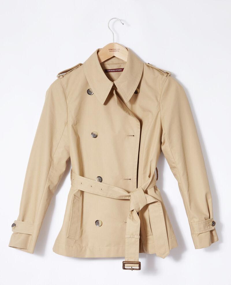 Short trench coat Travertine Giorgia