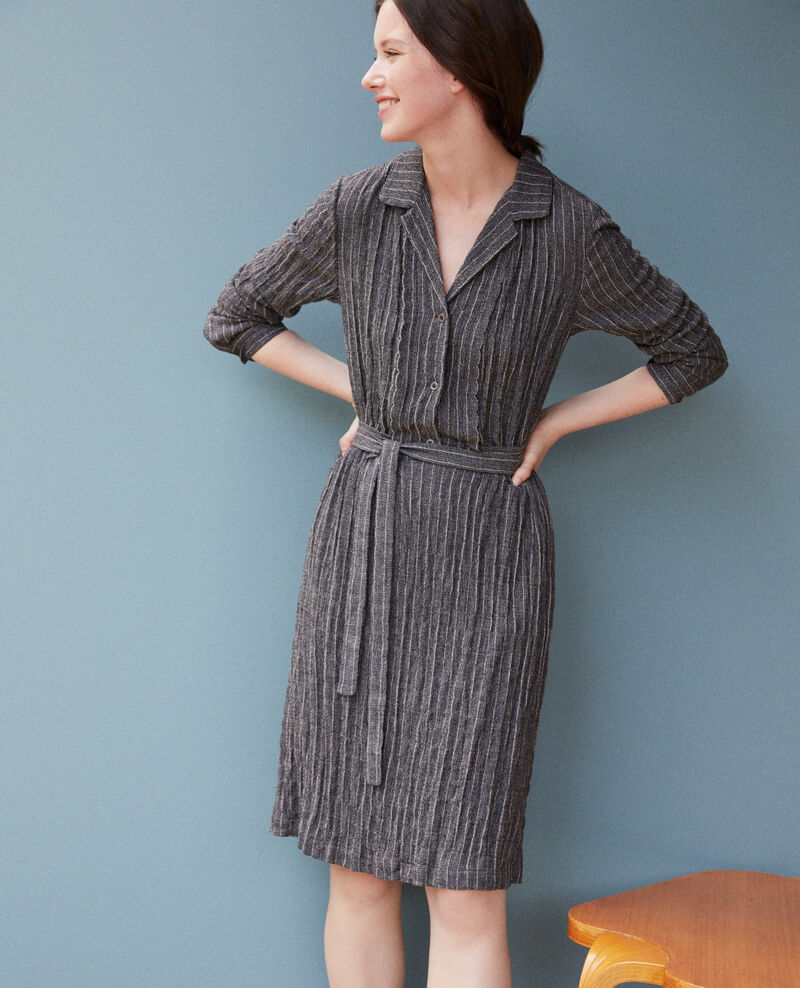 Shirt dress PEACOAT/CLOUD DANCER