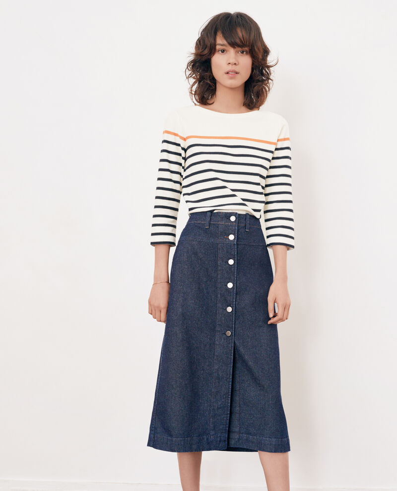 Denim skirt INDIGO