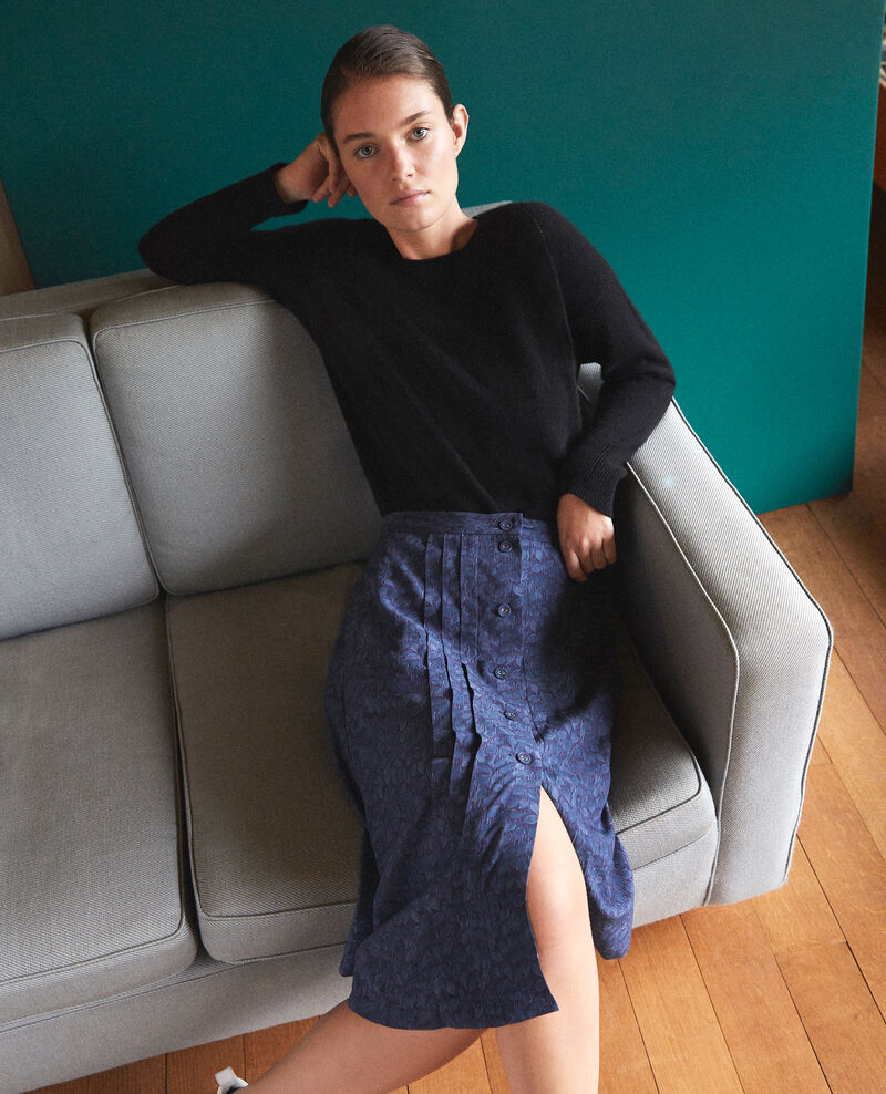 Printed skirt LD MAJOLICA BLUE