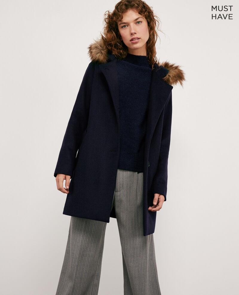 Wool coat Navy Dalexo