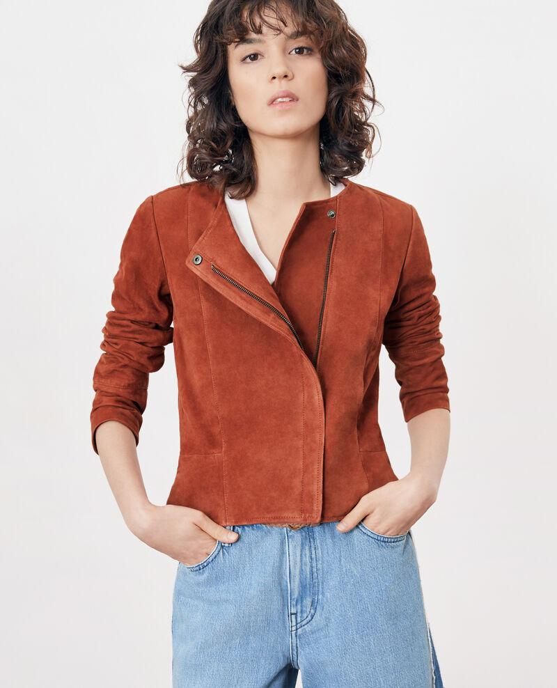 Short suede jacket AUBURN
