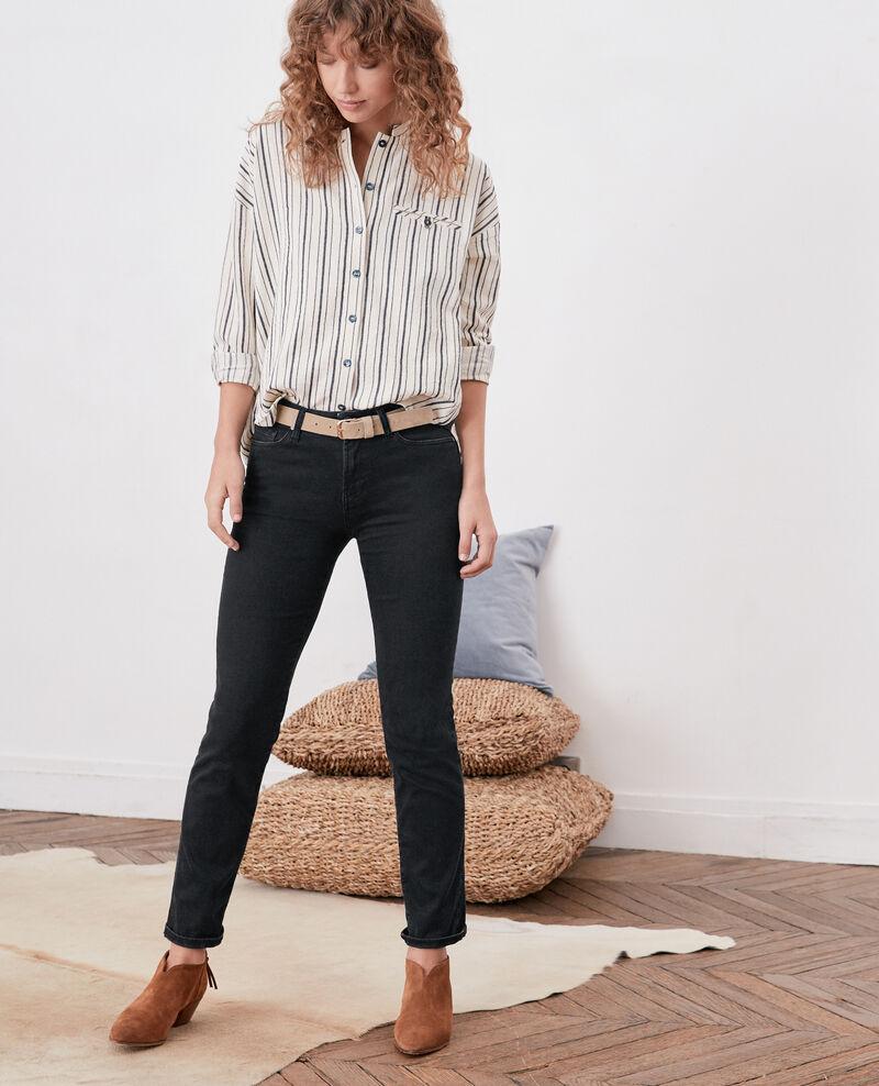 Skinny stretch jeans Noir Dorm