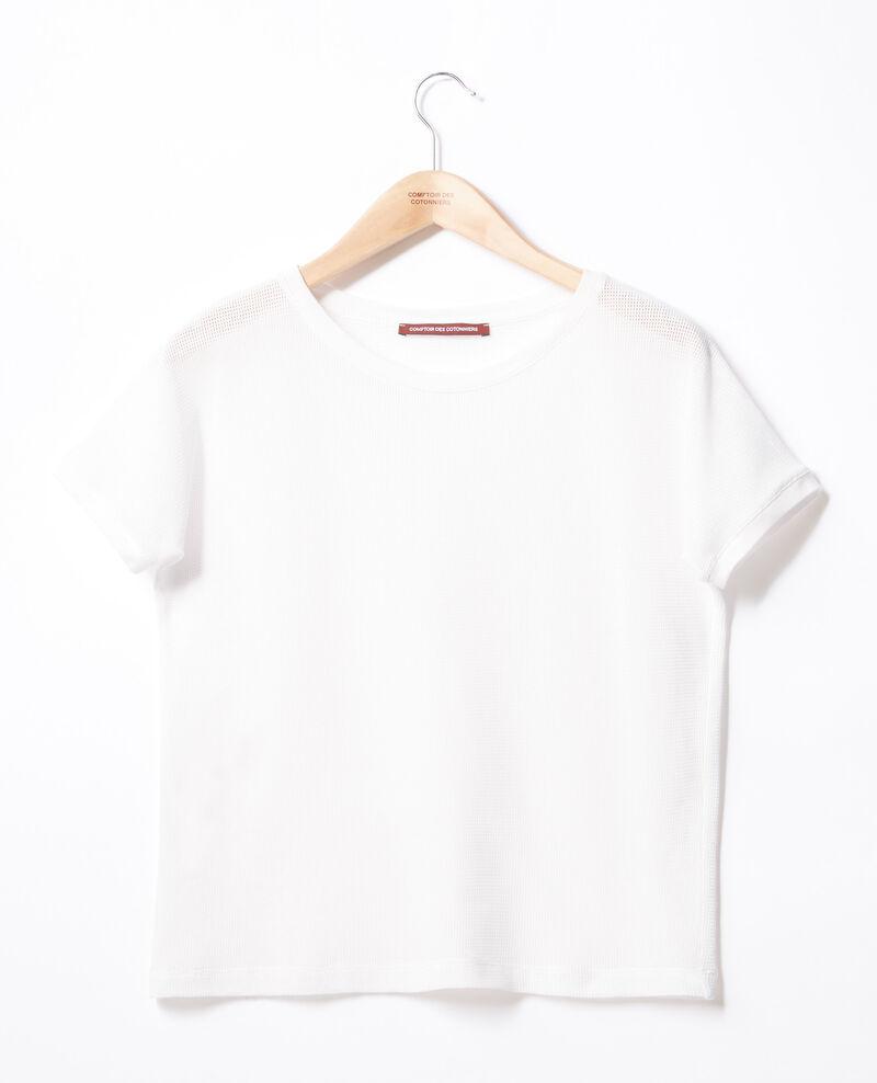 Round neck T-shirt Off white Fyera
