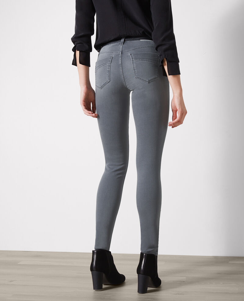 Jolie chérie skinny jeans Light grey Cabou