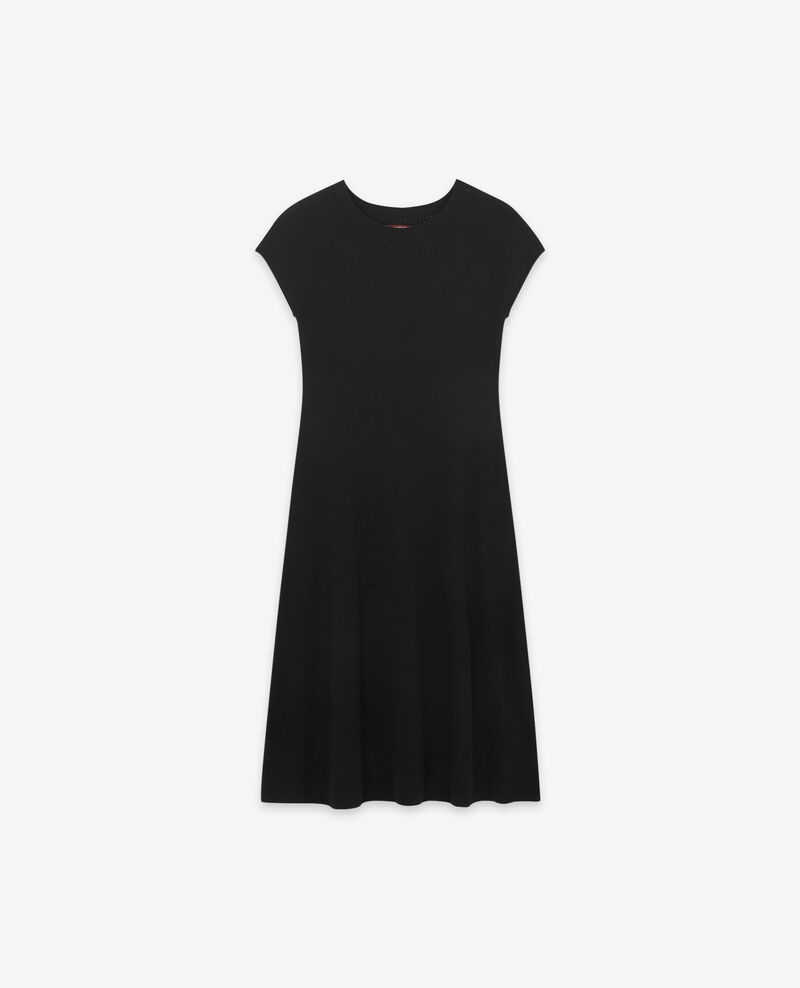 Seamless knitted dress Noir Dema