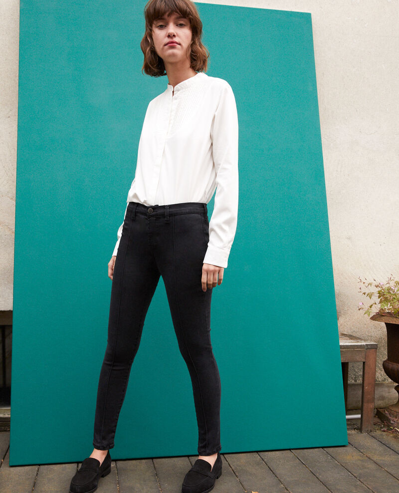 7/8 skinny cropped jeans Faded black Gireg