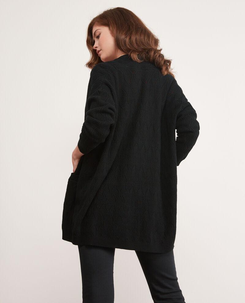 Long cardigan Noir Doatigan
