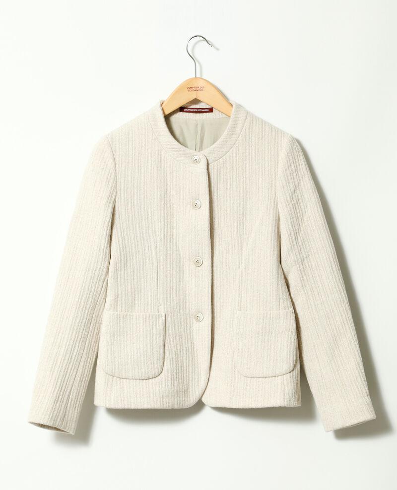Short jacket OFF WHITE