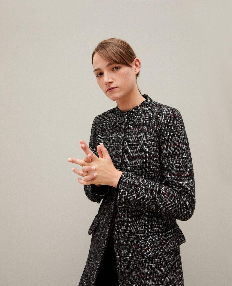 Straight fit coat Noir Guislain