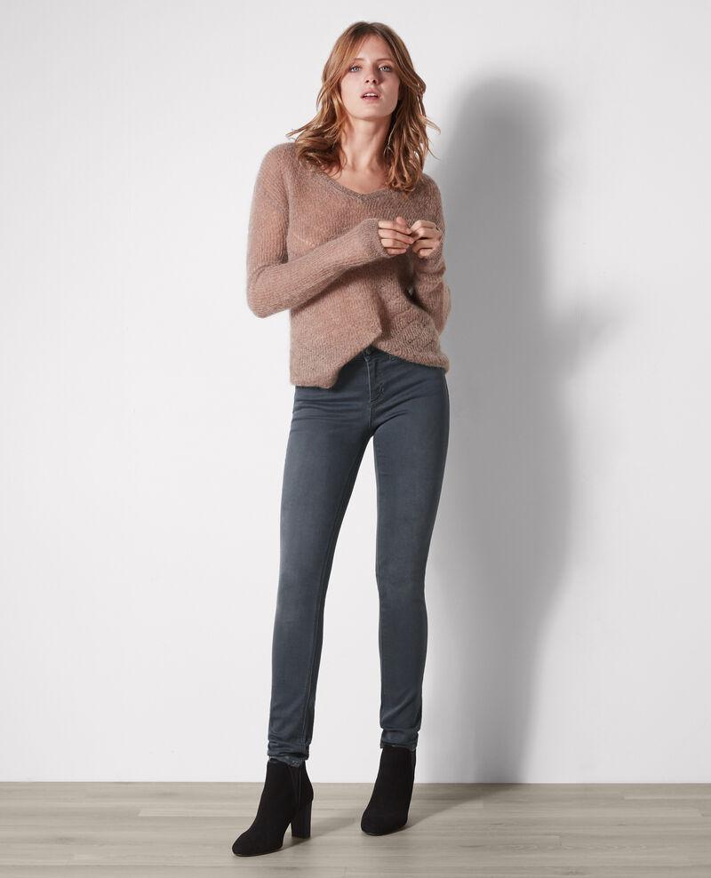 Ma demoiselle slim-fit jeans Dark grey Cibou