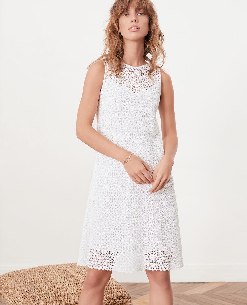 Lace dress BLANC
