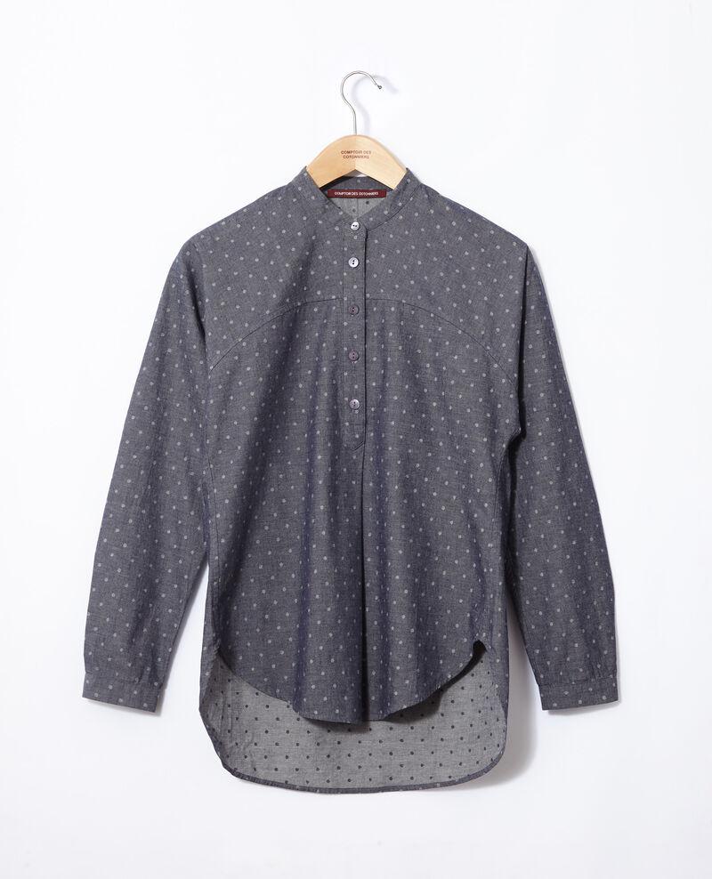 High collar tunic Wp peacoat Gaftan