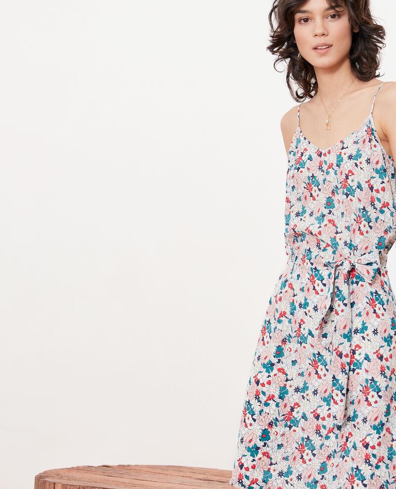 Dress with bow Summer bloom rosebud Fracas