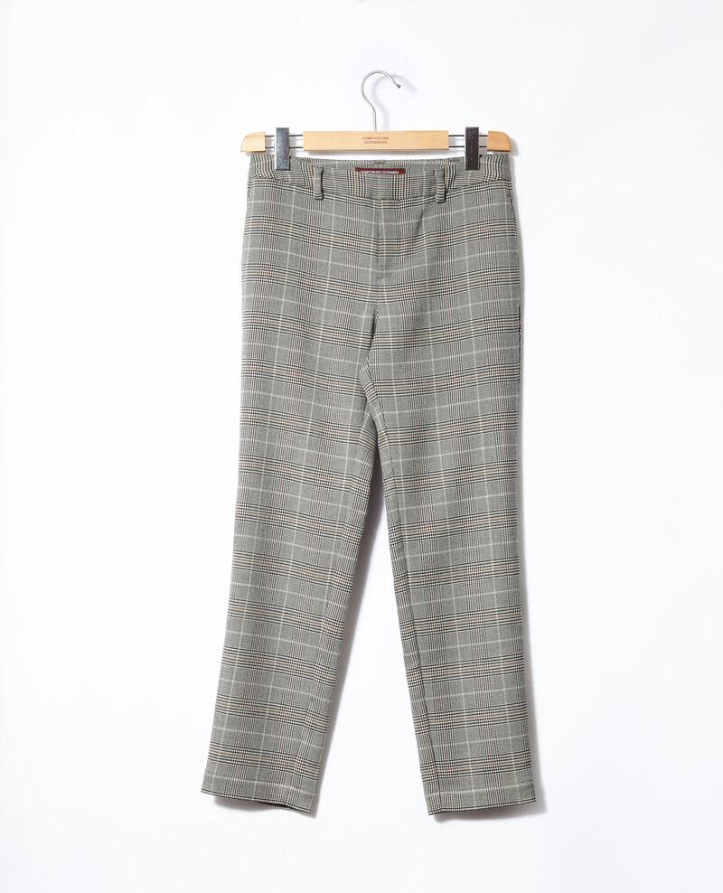 Straight-leg trousers Noir Grace