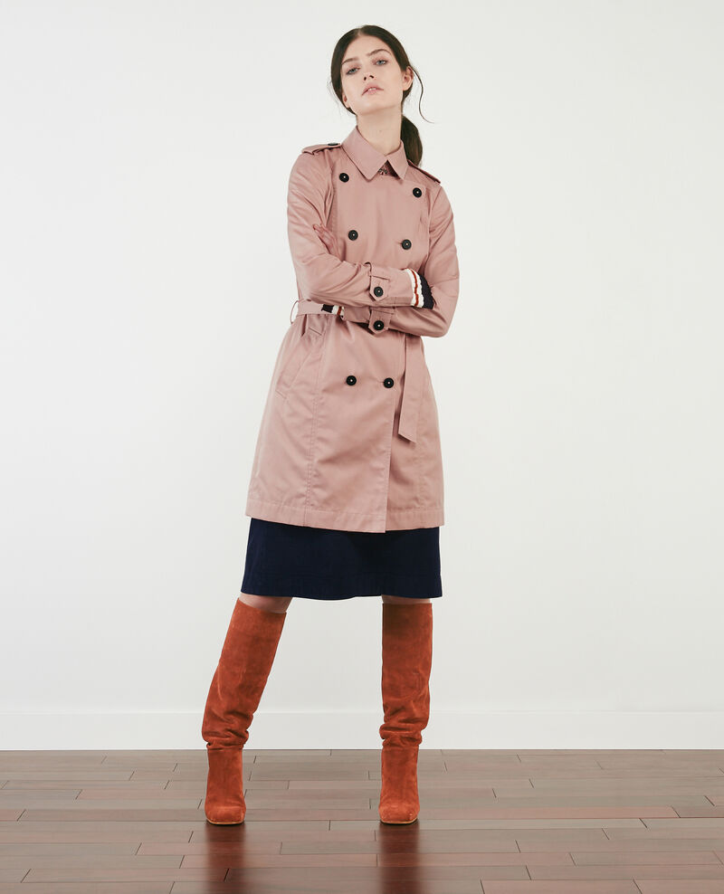 Iconic trenchcoat Peach Cadeau
