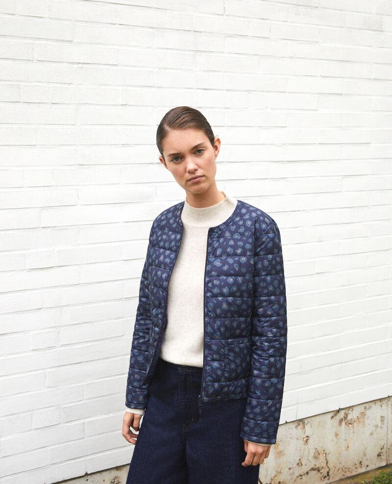 Reversible Mademoiselle Plume jacket BL PEACOAT
