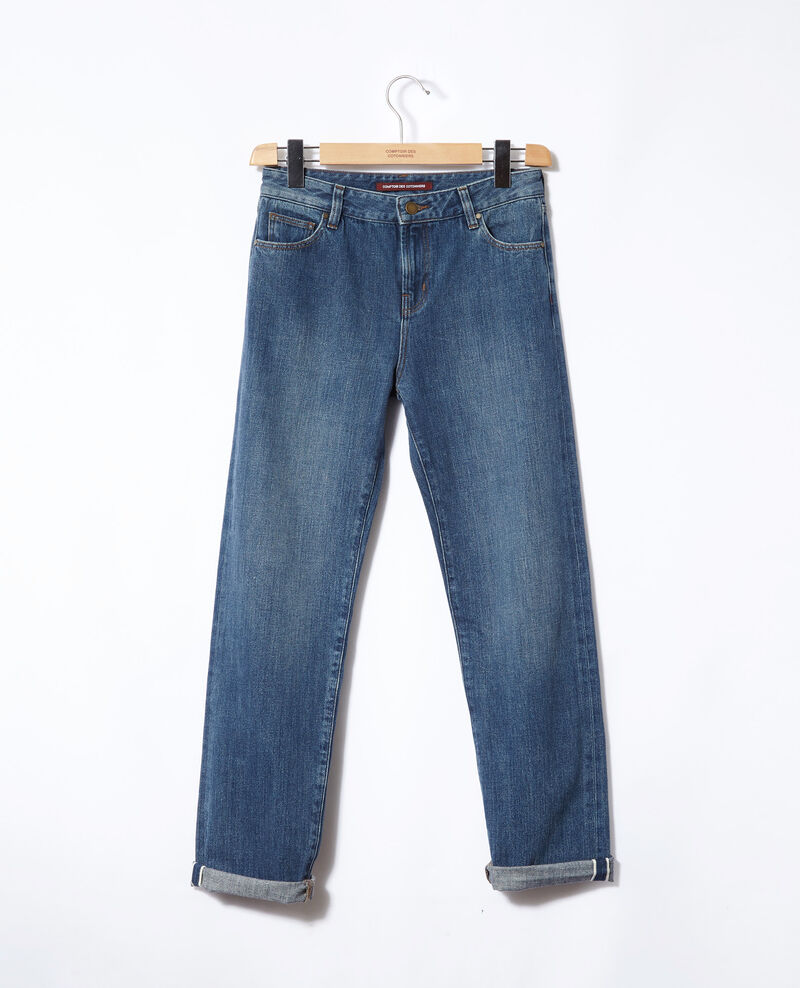 Real straight jeans Vintage wash Ganon