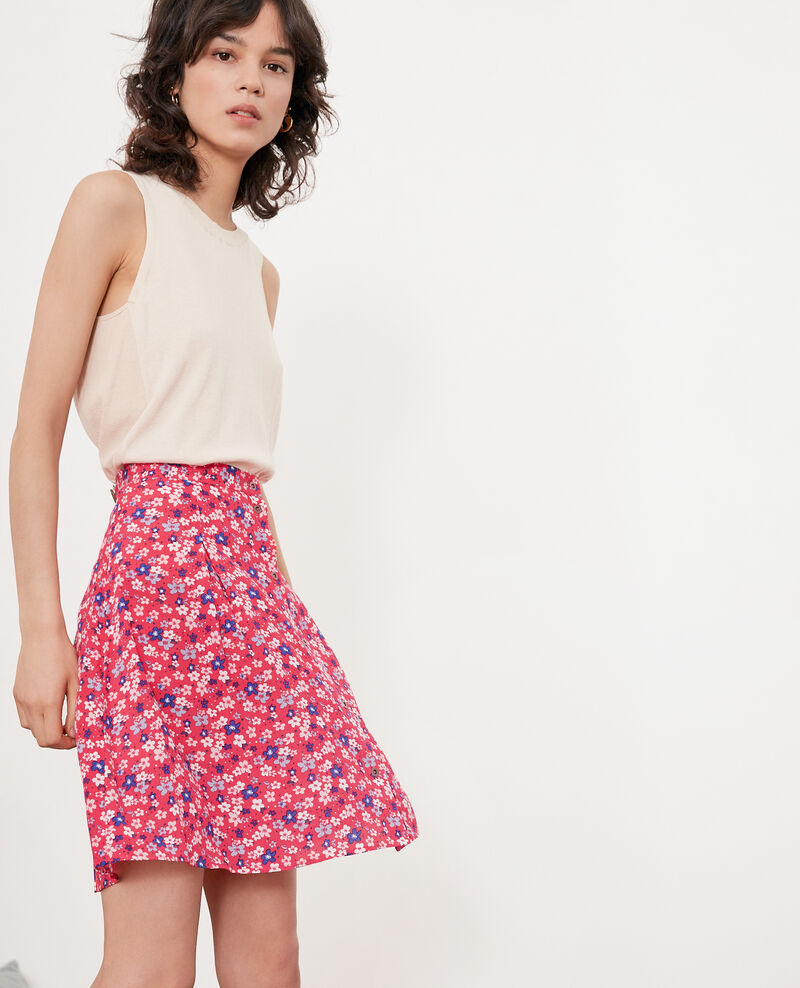 Skater skirt HONOLULU ULTRA PINK