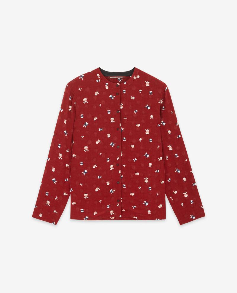 Printed shirt Pinecones devil Davocat