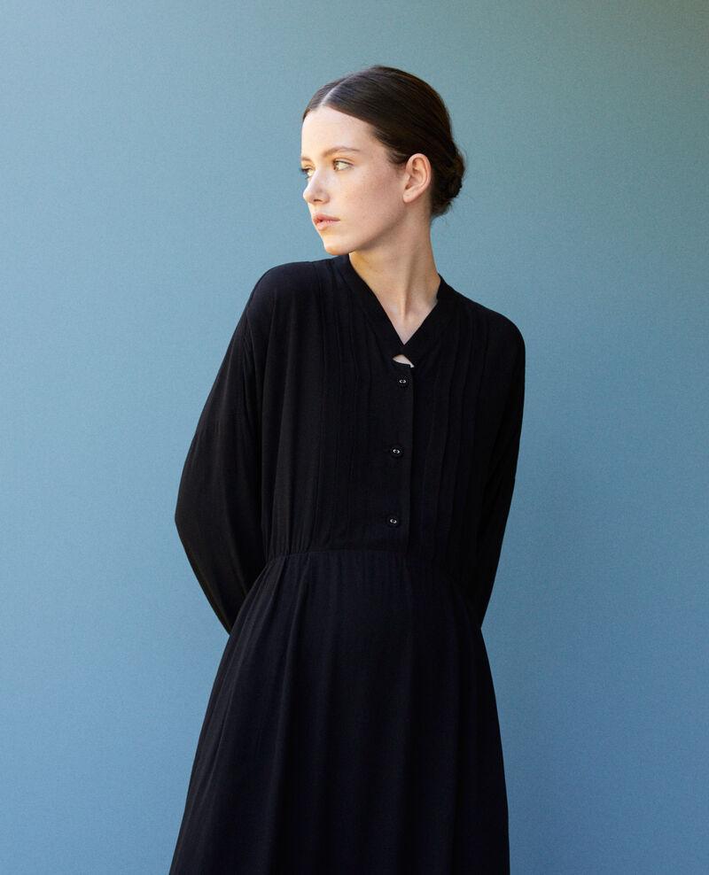 Mid-length dress Noir Gevian