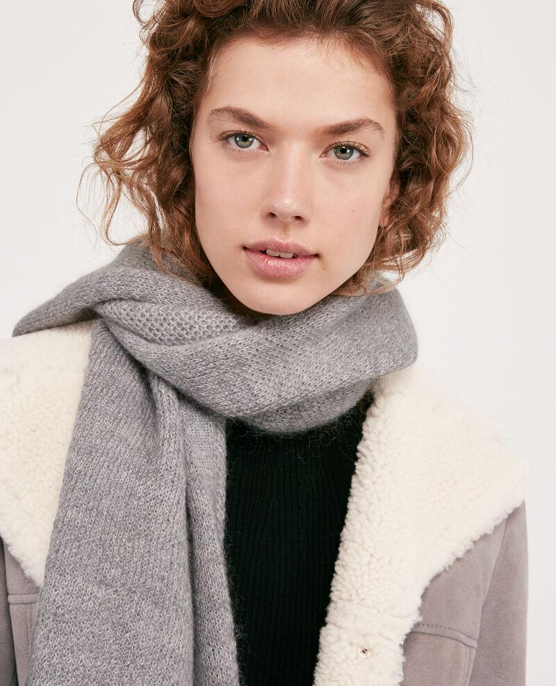 Mohair scarf Light grey Djalie