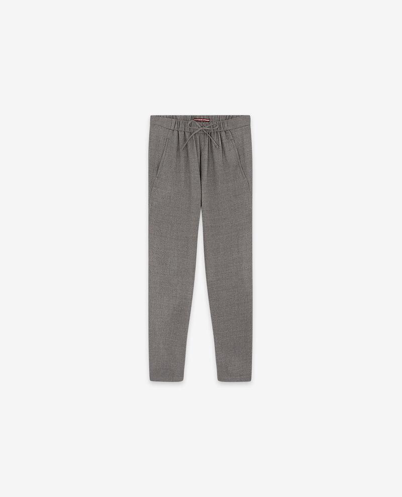 Wool trousers Light grey Dalray