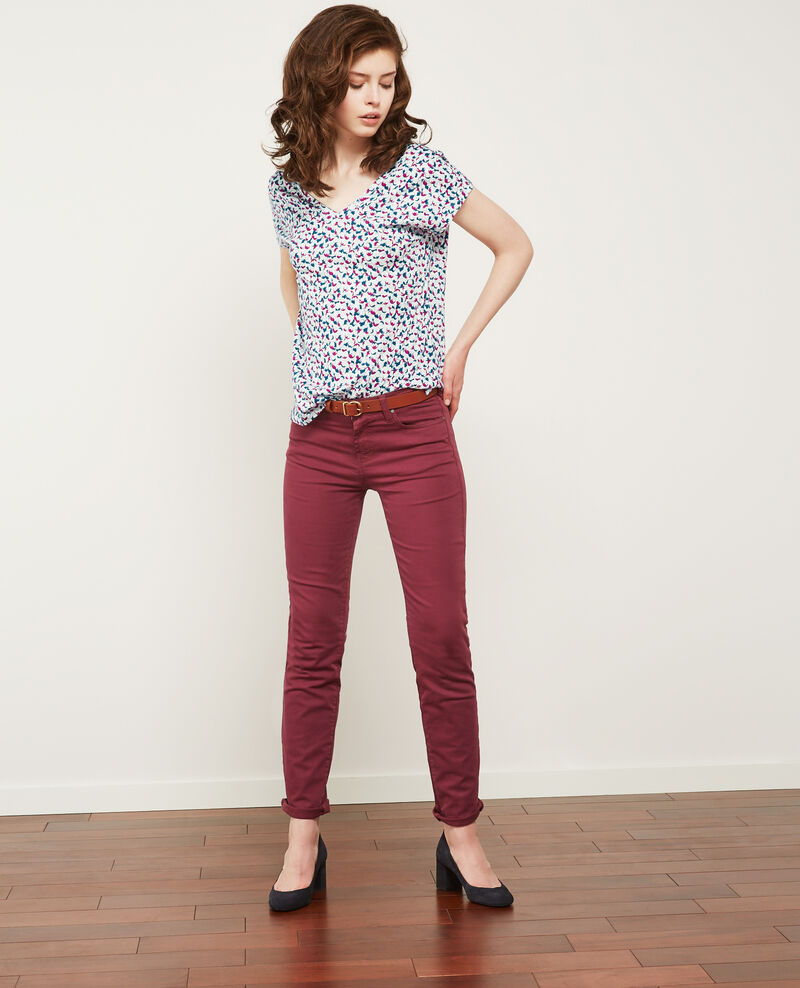 Printed T-shirt Bubbles peony Dragee