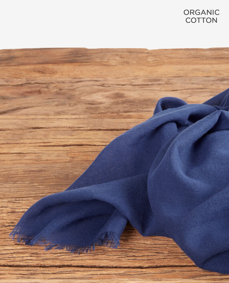 Cotton scarf Stone blue Forga