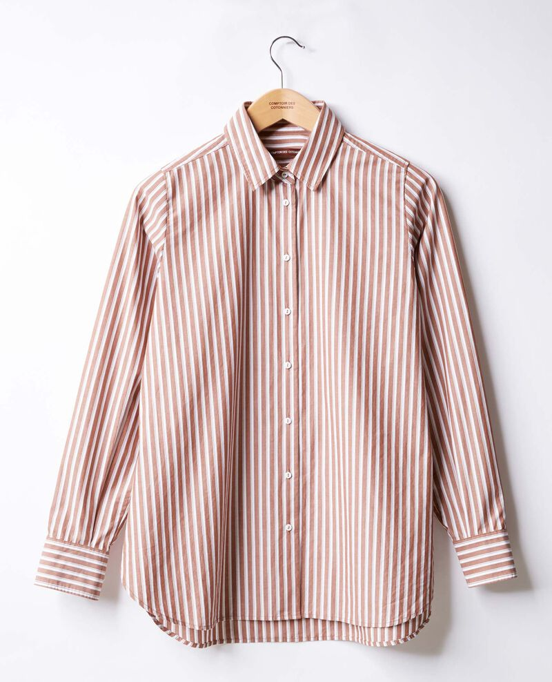 Striped oversize shirt AUBURN STRIPES